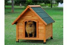 Eksempel på glimrende hundehus (Foto Petworld.dk)